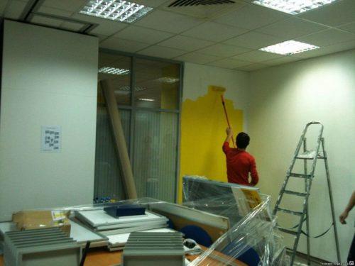 Как быстро отремонтировать офис