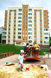 Жилой дом в городе Донецке по ул. Розы Люксембург